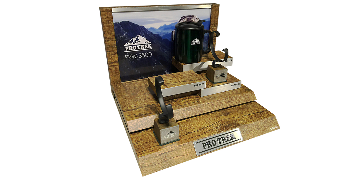 Specific and bespoke display for ProTrek